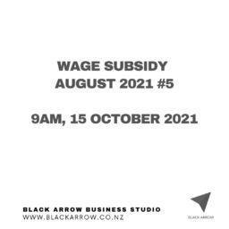 Wage subsidy #5