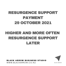 Resurgence Support Payment Changes