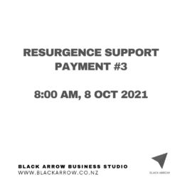 Resurgence Support Payment #3